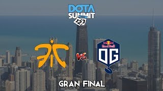 Fanatic vs OG Seed BO5 - GRAN FINAL Dota Summit 12