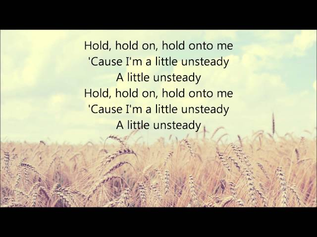 X-ambassadors-unsteady-lyrics