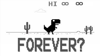 Can You Play The Chrome Dinosaur Game.. Forever?