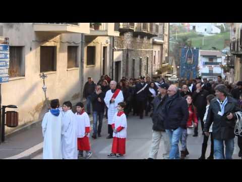 ROCCAPALUMBA Accoglie il corpo di Santa Maria Goretti