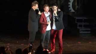 Backstreet Boys Cruise 2013 - Kevin Richardson, AJ bromance, Brian COUSINS love, jokes