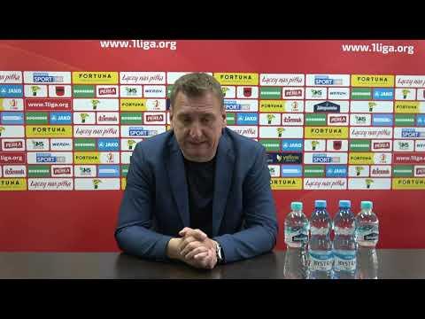 Trenerzy po meczu Górnik Łęczna - Stomil Olsztyn 1:1