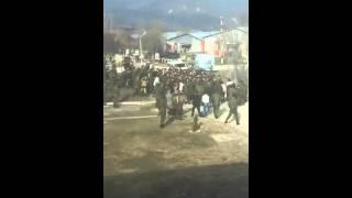 www.Magas.ru Массовая драка в с. Борзой Чечне