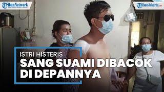 Sekelompok OTK Serang Pengantin Baru di Cilincing, Sang Suami Tak Berdaya Dibacok di Depan Istrinya