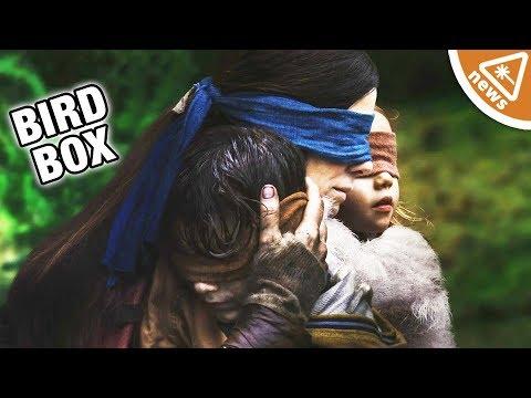The Bird Box Monsters Revealed! (Nerdist News w/ Jessica Chobot)