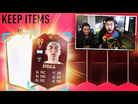 ICON & RED DYBALA PACKED!! MY FUT CHAMPS REWARDS!! FIFA 20