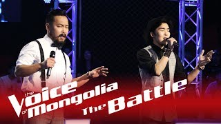 "Bilegt vs. Batbayar - ""Crazy"" - The Battle - The Voice of Mongolia 2018"