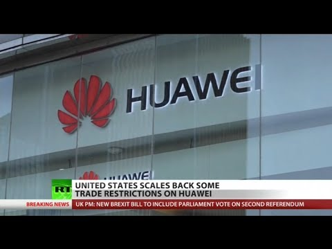 Trump admin changes mind, takes heat off Huawei