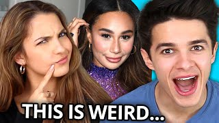 In this episode of VS, Brent & Lexi Rivera face off in a celebrity impressions contest! Who can do the best impression of their friends?? How good is Lexi's Eva impression?? Is Lexi's Ariana Grande impression better than Brent's Harry Styles impression?!? Watch to find out and be sure to like, comment and subscribe in the comments section below!!   HIGH SCHOOL Trivia | VS w/ Ben Azelart & Lexi Hensler - https://youtu.be/ZgGSehZzaXE  The series where AwesomenessTV influencers play fun internet challenges against each other!  Who Knows Our Sister Better Challenge: Twin VS Twin w/ Niki & Gabi - https://youtu.be/EhAEqHL_DOQ 