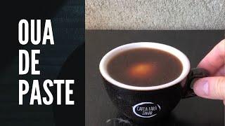 Oua de Paste vopsite cu cafea
