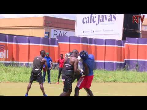 Uganda's representatives train for the world youth boxing championships