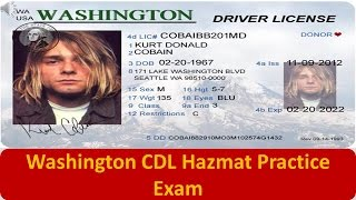 photo regarding Cdl Hazmat Practice Test Printable named educate cdl try washington - Cost-free video clip glimpse internet site
