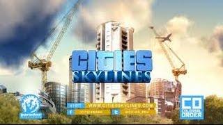 preview picture of video 'Cities skylines первое впечатление'