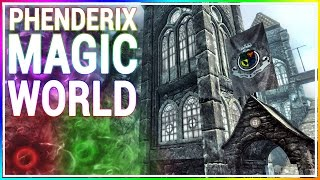 Skyrim Console Mod - Phenderix Magic World DLC (PS4/XB1/PC)