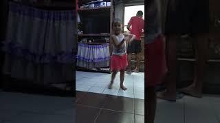 Aliyah Kacey dancing Banana Chacha