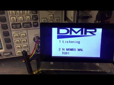 New Nextion screen design for the MMDVM - смотреть онлайн на