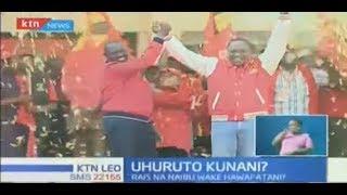 UhuRuto Kunani?: Wafuasi wao walumbana nyuma ya pazia