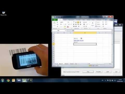Utilizar un teléfono Android como escáner de código de barras para PC