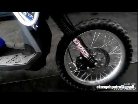 Video Yamaha XRide Modifikasi Motorcross