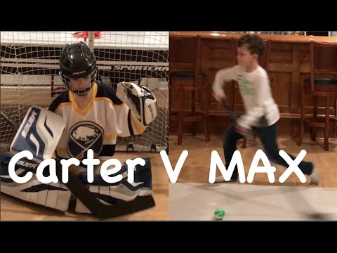 Hockey kids  Max V Carter best of 5 shootout