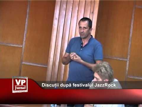 Discuții după festivalul JazzRock