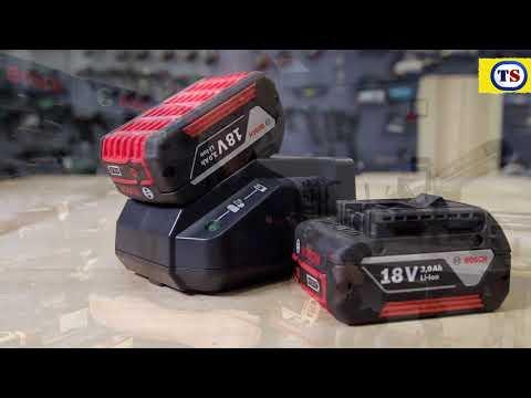 Bosch GSB 18-2-LI 18V Li-Ion Cordless Combi Drill & 34 Piece Accessory Kit