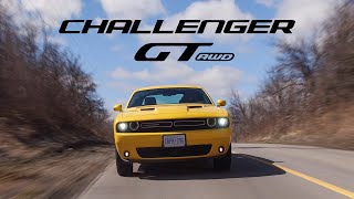 2018 Dodge Challenger GT AWD Review - The Muscle Car That Cant Do Burnouts