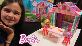The Barbie Club Chelsea Clubhouse Toy Opening & How to Assemble