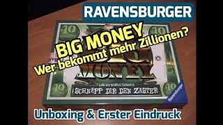 Ravensburger Big Money Gesellschaftsspiel [Unboxing & Erster Eindruck]