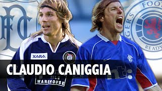 Scottish Football Legends - Claudio Caniggia