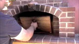 Firing a Wood Fired Oven