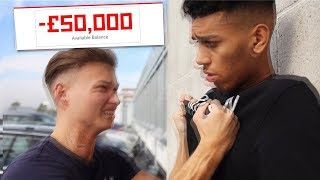 HOW I Scammed This YouTuber For £50,000... (best prank ever)