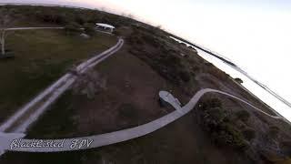 Island flight pt.2 #fpv #fpvdrone #fpvfreestyle #jumper #florida #beach #sunset