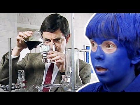 When Mr. Bean Went Back to School for Some Chemistry