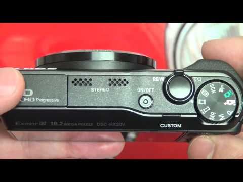 Sony HX20V Review Part 1