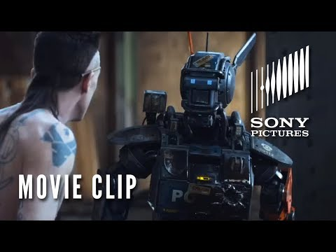 "CHAPPIE Movie Clip - ""Real Gangster"""