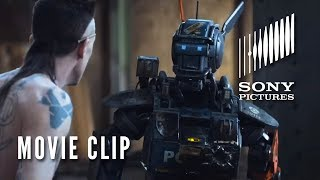 "Movie Clip 1 - ""Real Gangster"" - Chappie"