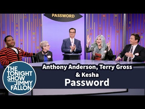 Password with Anthony Anderson, Terry Gross and Kesha