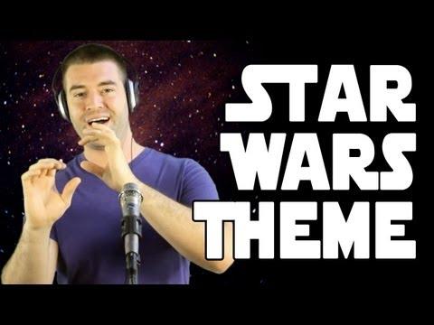 Canta a cappella la colonna sonora di Starwars