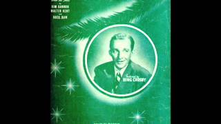 Bing Crosby - I'll Be Home For Christmas (If Only In My Dreams) 1943