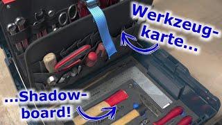 L-Boxx Werkzeugkoffer: Selbst gebaut mit Werkzeugkarte und Shadowboard-Einlage