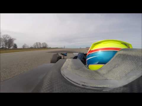 F4 US Rookie JP Southern Jr Gingerman Raceway Test