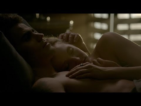 The Vampire Diaries 8x01 Caroline and Stefan kiss/make out and have sex