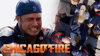 Severide Caught In A Winch | Chicago Fire