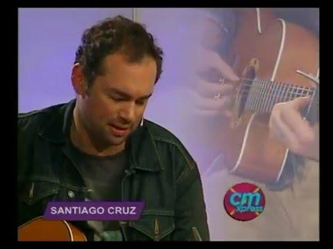 Santiago Cruz video Aquí me tienes (Acústico) - Diciembre 2015