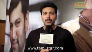Jayam Ravi Speaks at Nimirndhu Nil Movie Success Meet