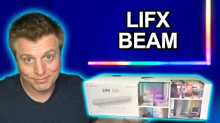 LIFX Beam Unboxing & Setup - Great Accent Lighting