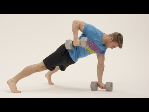 How To Perform the Commando Row - Exercise Tutorial