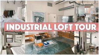 DTLA Industrial Loft Apartment Tour! Our Mid-century Oasis.