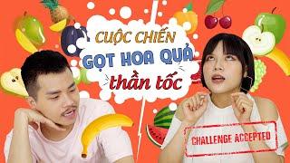 CUỘC CHIẾN GỌT HOA QUẢ THẦN TỐC | Challenge | Vlog | Tuyết ft Đức Châu